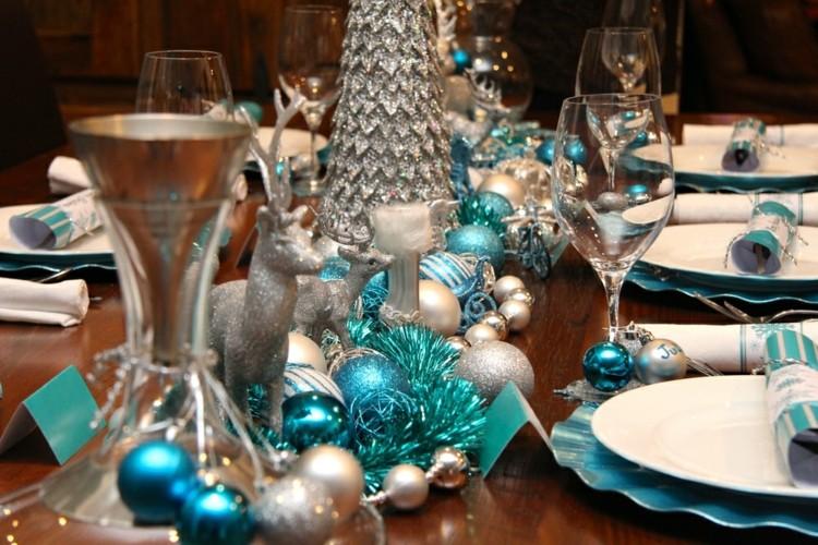 Cena de navidad cincuenta ideas para decorar la mesa - Como adornar la mesa en navidad ...