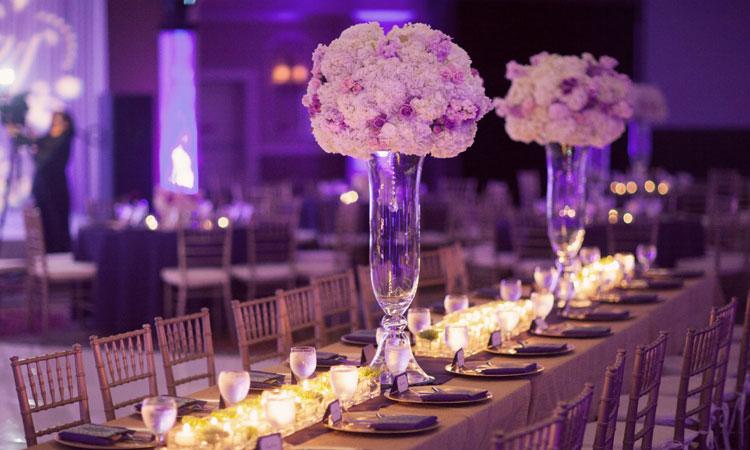 Centros de mesa para bodas Quiero mi fiesta